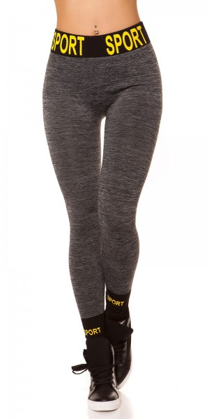 "Trendy Thermo Workout Leggings ""SPORT"""